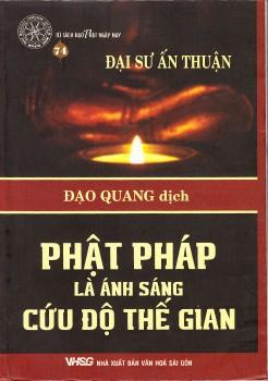 Phật Pháp là ánh sáng cứu độ thế gian