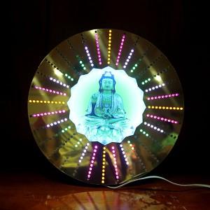 Đèn hào quang quán âm bằng led đổi mầu cỡ 40cm