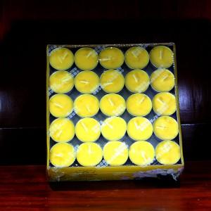 Hộp 100 nến sáp vàng thơm Đài Loan
