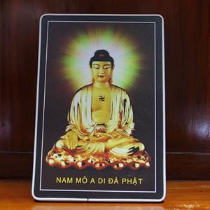 Tranh để bàn Phật A-di-đà
