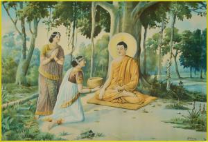 Tranh ép gỗ Thích Ca Mâu Ni Phật