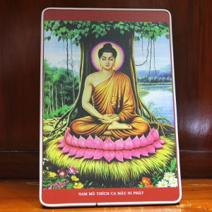 Tranh Phật Thích Ca để bàn