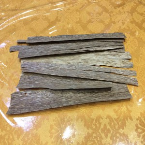 Mảnh trầm đốt loại 1