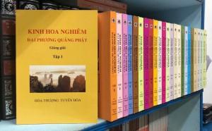 Kinh hoa nghiêm đại phương quảng phật giảng giải (bộ 25 cuốn)