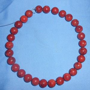 Chuỗi hạt cầm tay bằng san hô đỏ