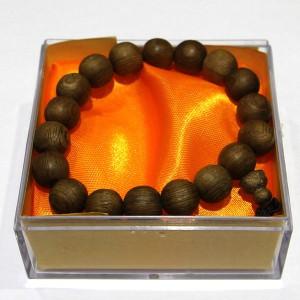 Vòng hạt đeo tay gỗ Thủy Tùng vàng